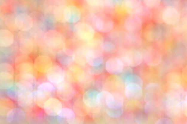 Luzes de natal desfocadas como pano de fundo do feriado, bokeh