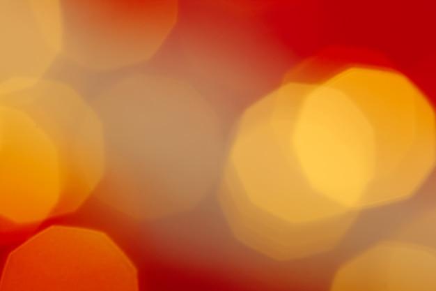 Luzes de natal festivo bokeh de guirlanda fundo desfocado