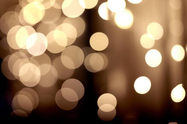 Luzes desfocadas de bokeh abstrato festivo