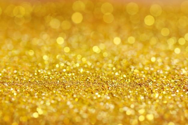 Luzes douradas brilhantes