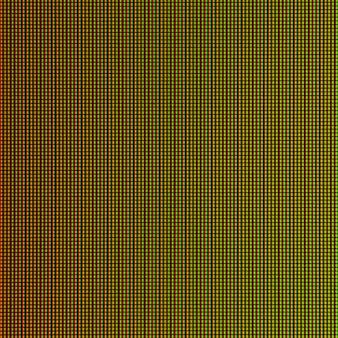 Luzes led do painel de exibição da tela do monitor de computador led.