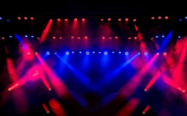 Luzes mostram lazer show