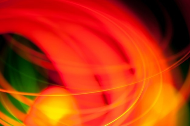 Luzes vermelhas e verdes
