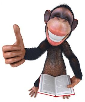 Macaco divertido