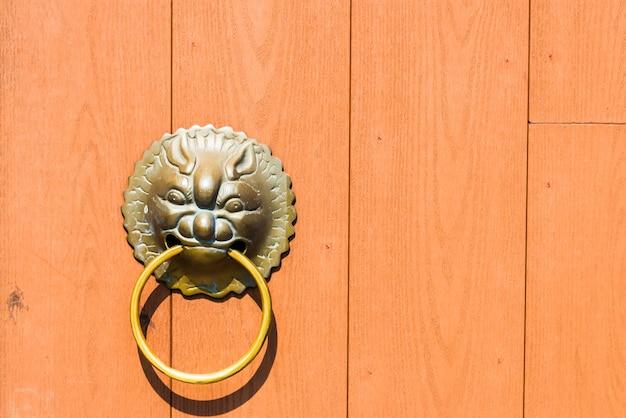 Maçaneta da porta estilo chinês