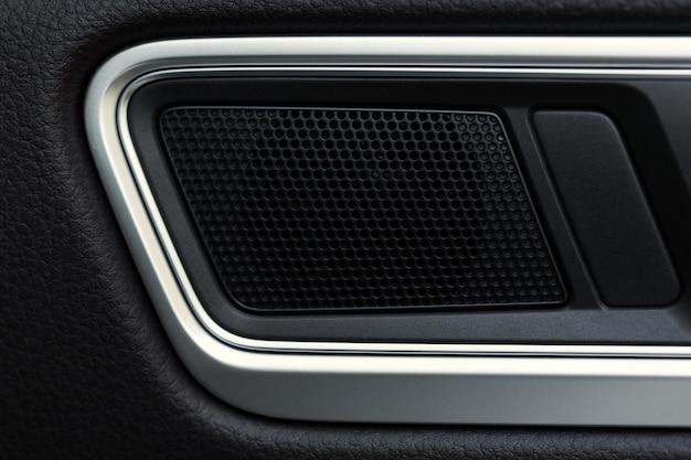 Maçaneta da porta interior, detalhe interior moderno carro