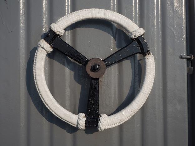Maçanetas das portas do navio de guerra