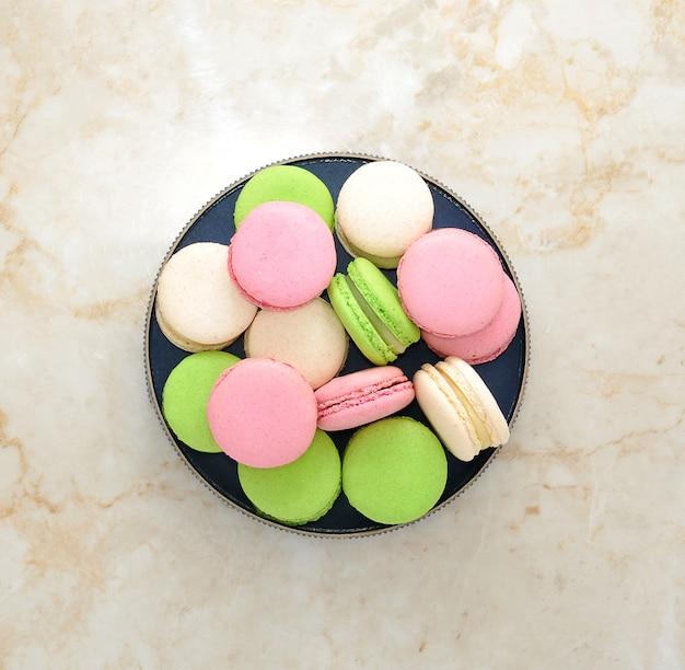 Macarons franceses tradicionais
