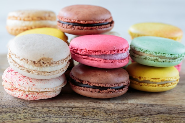 Macarons franceses