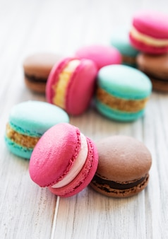 Macaroons coloridos