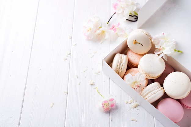 Macaroons doces provans