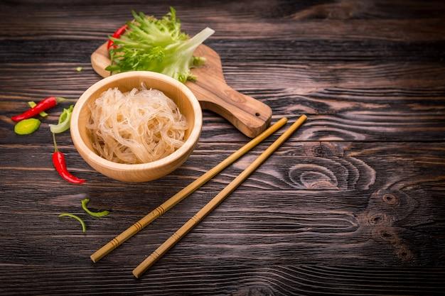 Macarrão de vidro de arroz