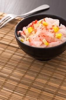 Macarrão rosa com camarão