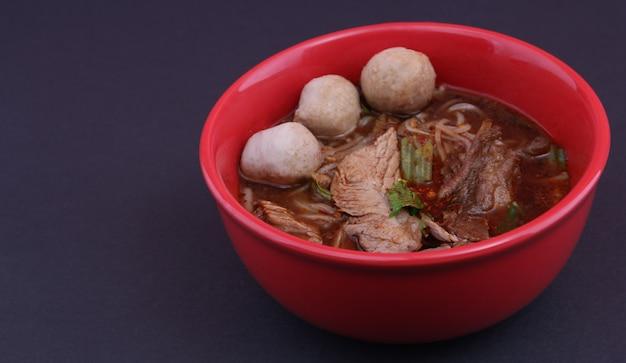 Macarrão tailandês.
