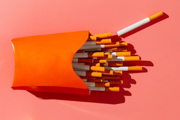 Maço de cigarros liso