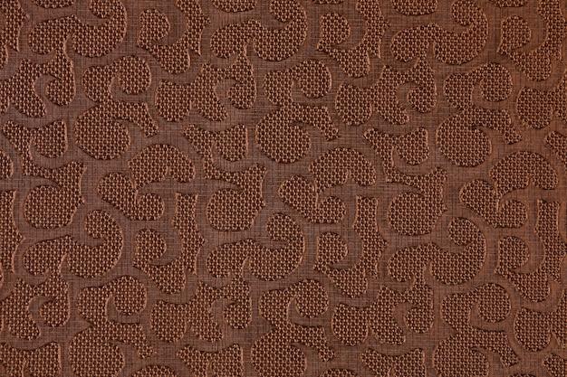 Macro de close up sintético de couro texturizado artificial