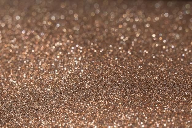 Macro de textura de glitter marrom