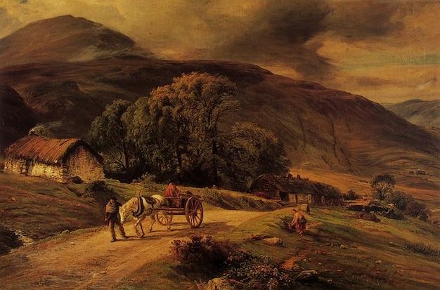 Macwhirter pintura de arte artistry