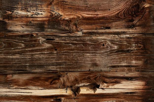 Madeira antiga com superfície desgastada