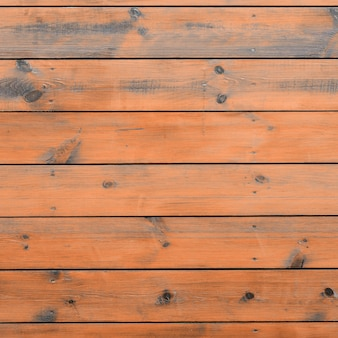 Madeira envernizada do exterior da cabine. prancha de celeiro de madeira marrom