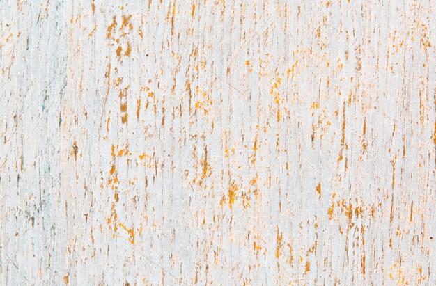 Madeira pintada branca velha