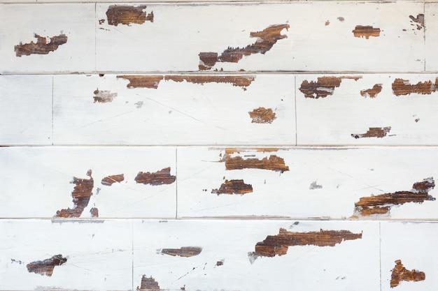 Madeira texturizada, velha superfície branca com uma textura desgastada da madeira