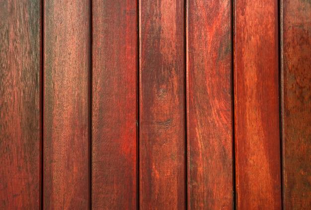 Madeira vermelha do close up com fundo original da textura do teste padrão com espaço da cópia para o texto. fundo de madeira para canteiro de obras.