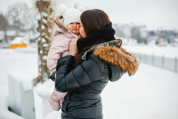Mãe com filha