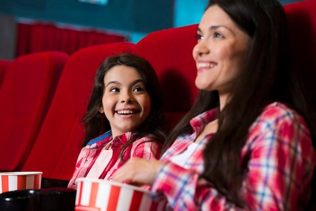 Mãe filha, em, cinema