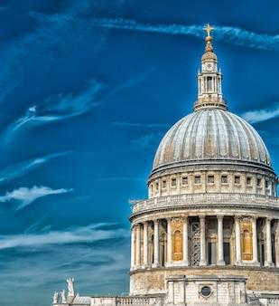 Magnífica vista aérea da catedral de são paulo.