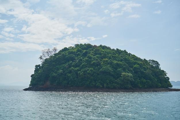 Maia horizontal ilha montanha