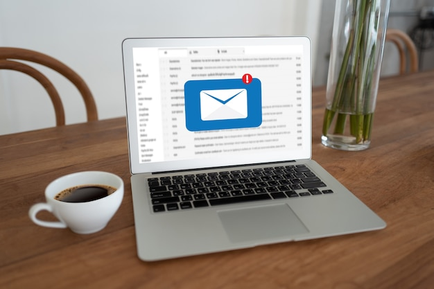 Mail no laptop