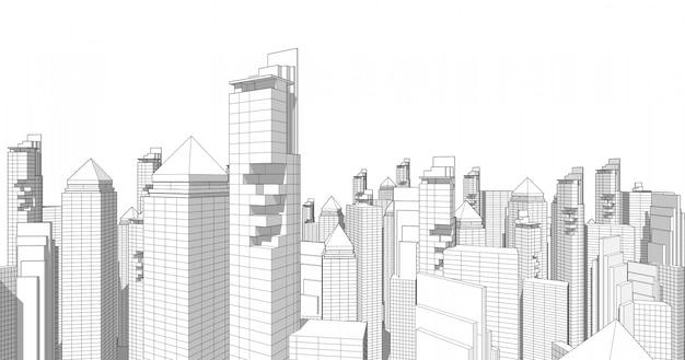 Maior centro comercial e de investimentos é o centro de escritórios, bancos, residências, hotéis, shoppings