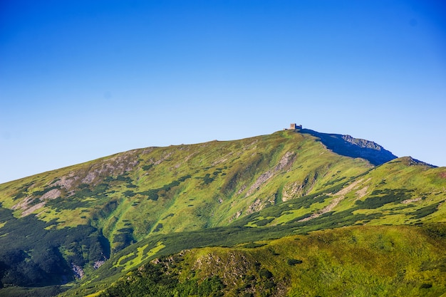 Majestosa paisagem mountian