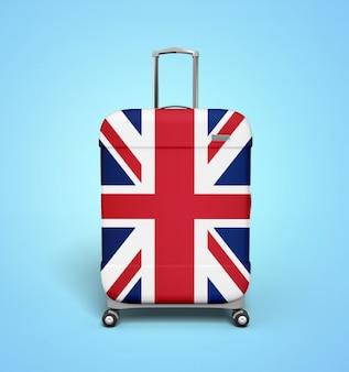 Mala de viagem do reino unido - férias