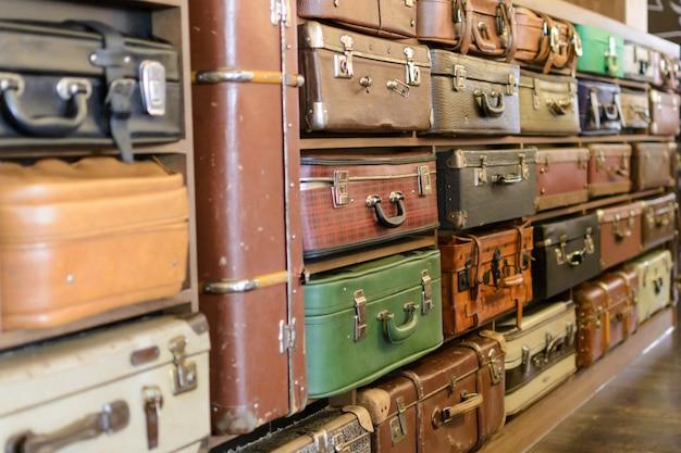 Malas vintage velhas