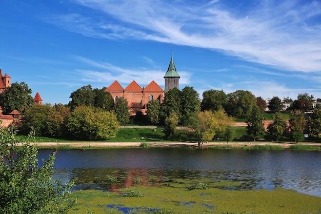 Malbork é o castelo dos cruzados na polônia