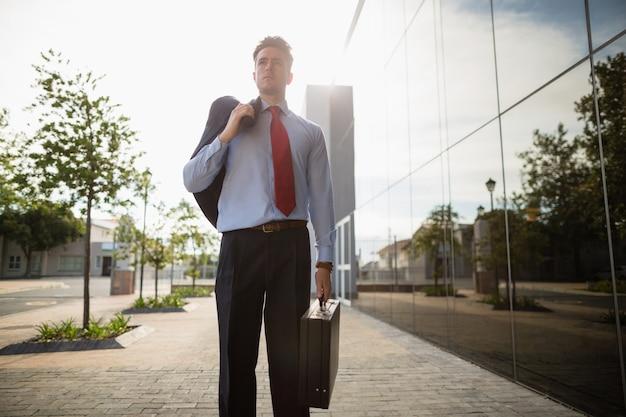Maleta de exploração do empresário