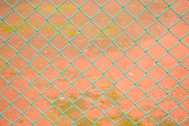 Malha de arame de aço cerca verde
