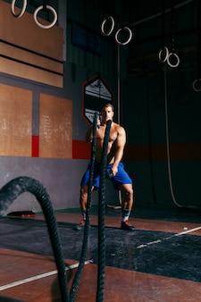 Man treinar com corda