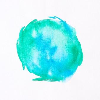 Mancha redonda fundo aquarela