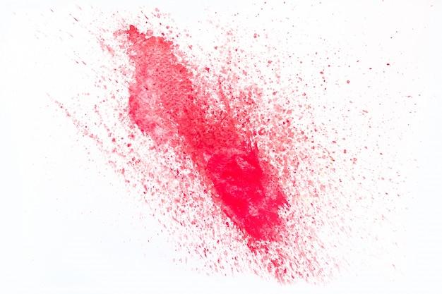 Mancha vermelha