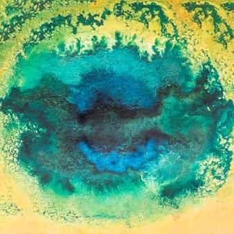 Manchado de tinta aquarela abstrato