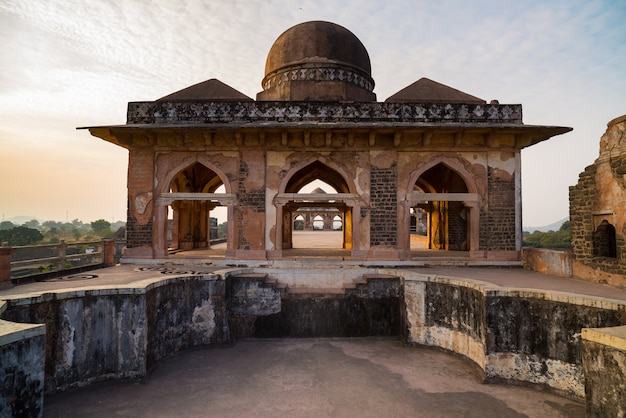 Mandu índia, ruínas afegãs do reino islam