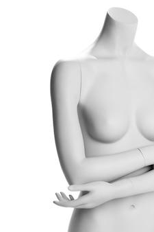 Maneken feminino isolado