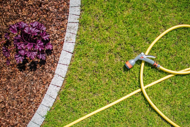 Mangueira de água de jardim