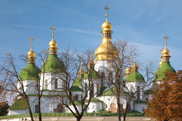 Manhã catedral de santa sofia