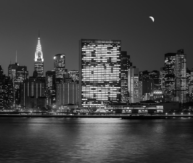 Manhattan à noite