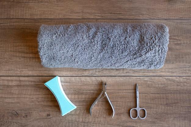 Manicura e ferramentas de manicura