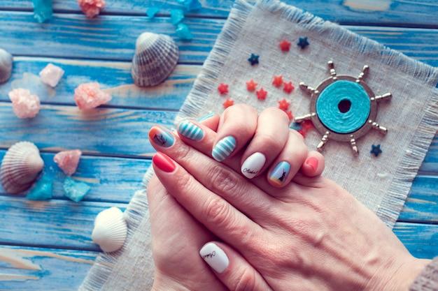 Manicure mar arte
